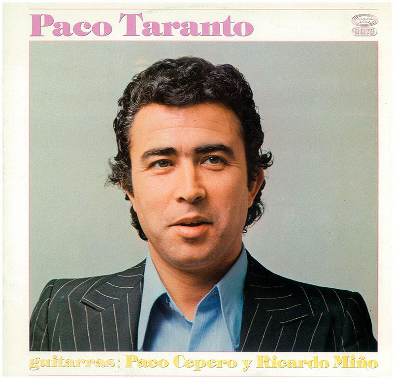 18-Paco Taranto portada LP donde incluyó Sí, pero no.