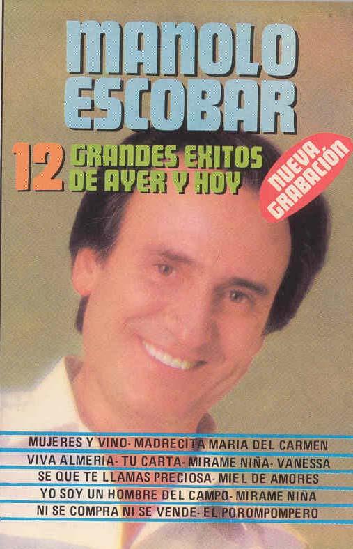 2-12 Grandes Éxitos que contiene la canción MÍRAME NIÑA.