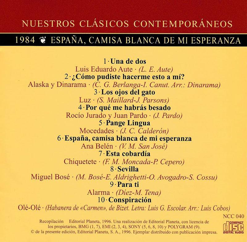 29-Nuestros Clásicos Contemporáneos. Créditos.