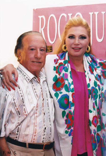 2-Con Rocío Jurado en Lorca.
