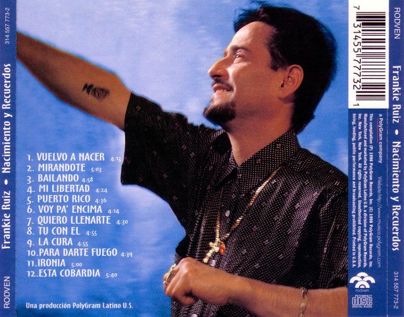 25-Frankie Ruiz Nacimiento y Recuerdos.