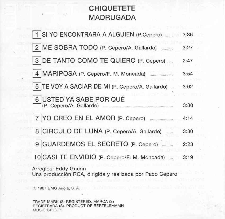 2-Contraportada CD. Créditos.