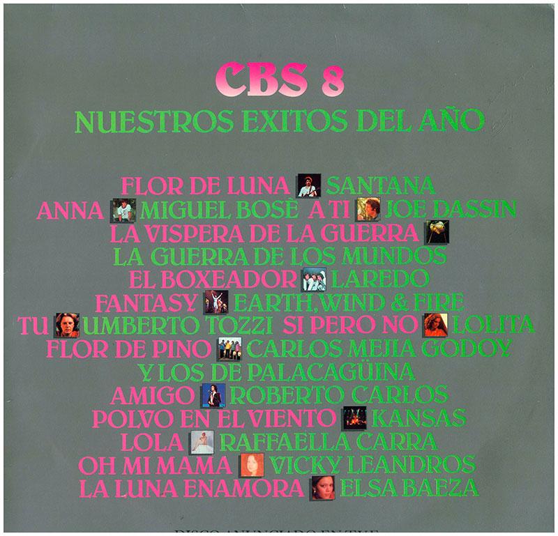 2-Selección Nuestro éxitos del año CBS 8.