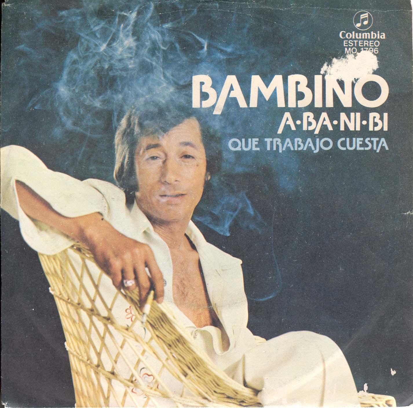 1-Single original que en la cara B contiene ¡QUÉ TRABAJO CUESTA!