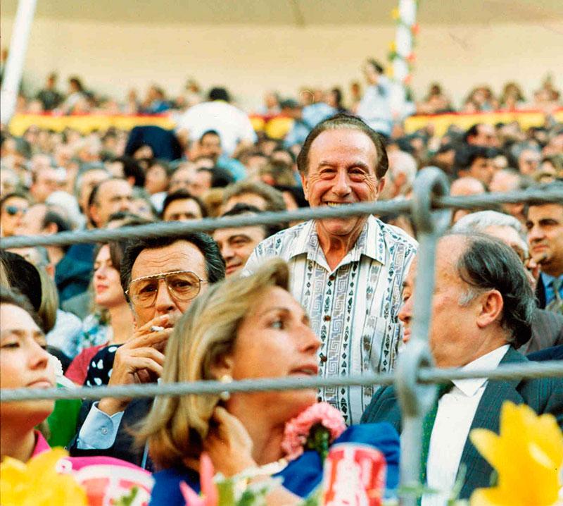 18-En la plaza de toros de LAS VENTAS.