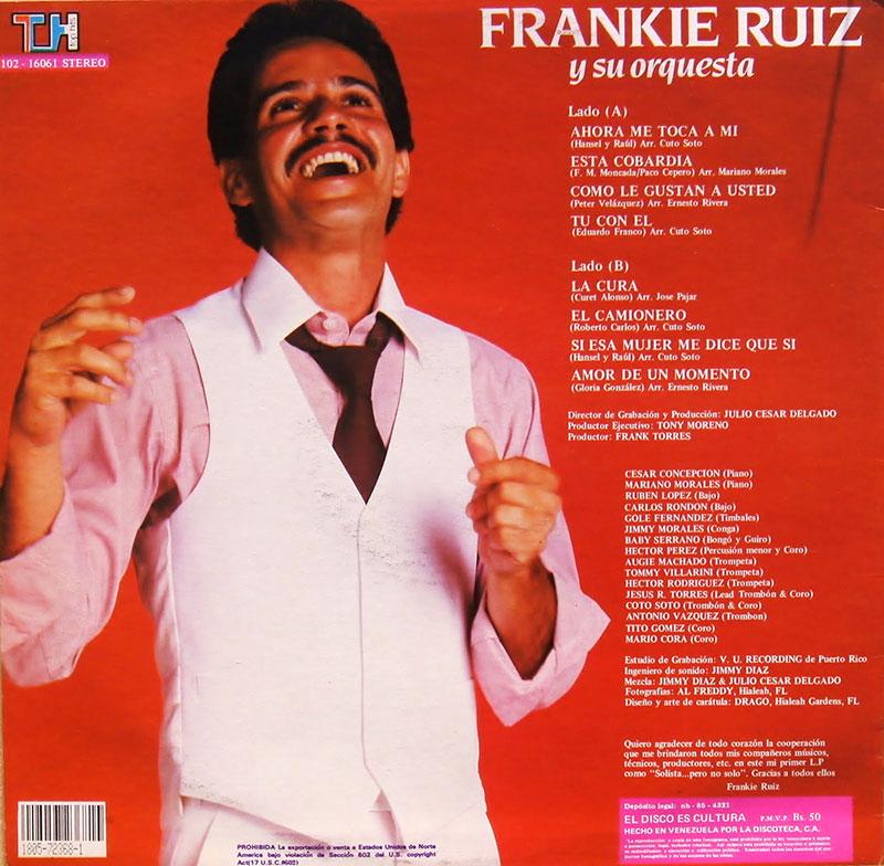 26-Frankie Ruiz y su Orquesta.