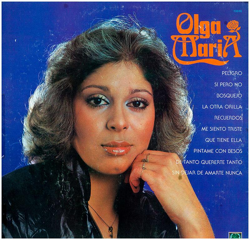 13-Olga María (hija de la inolvidable OLGA GUILLOT) en su primera grabación también cantó Sí, pero no.