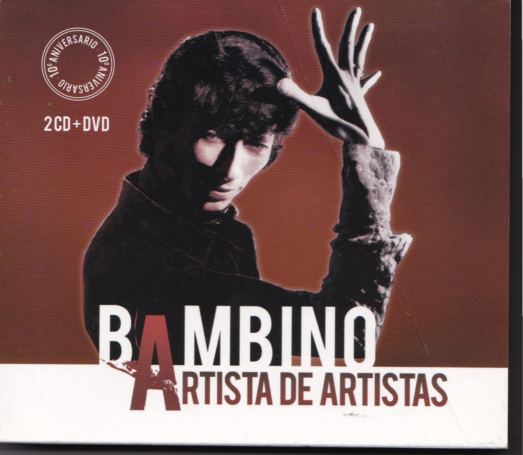 2-CD 10 ANIVERSARIO fallecimiento de BAMBINO que incluye TODO CORAZÓN.