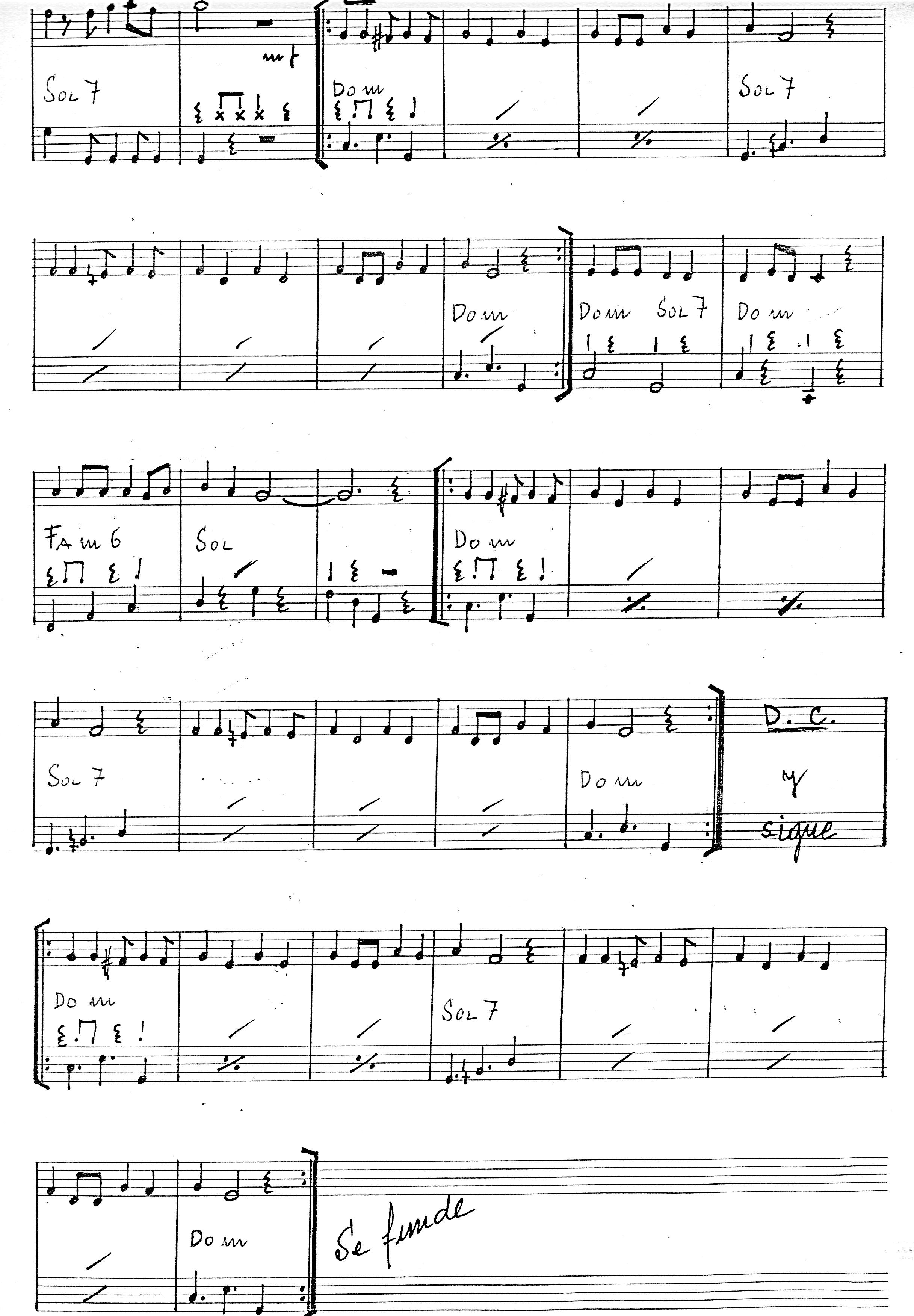 2-Partitura: TIRA LA CALABAZA y (2)