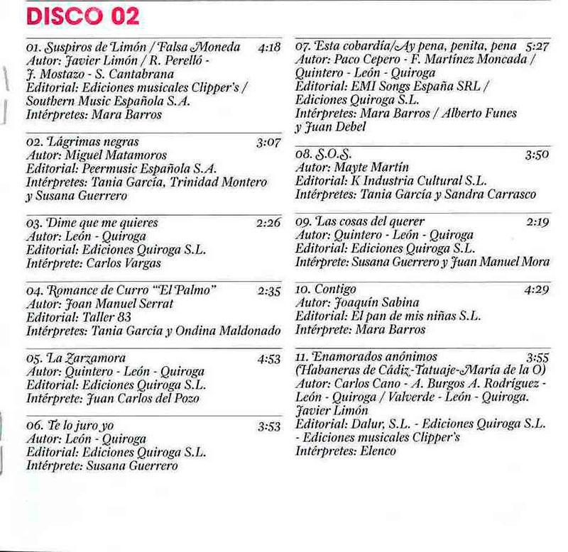 55-Créditos Musical Enamorados Anónimos.